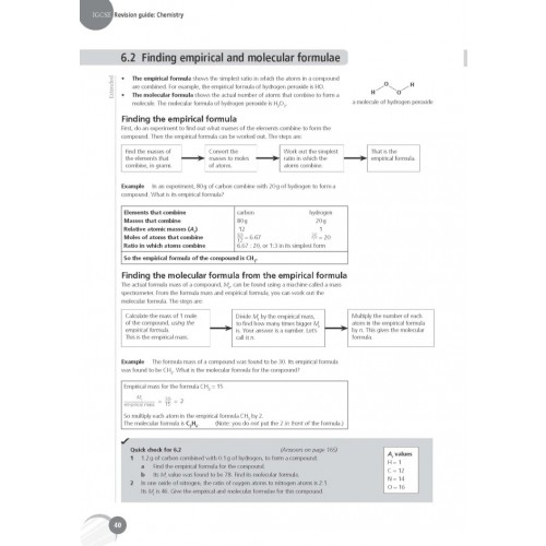 Complete Chemistry for Cambridge IGCSE Revision Guide