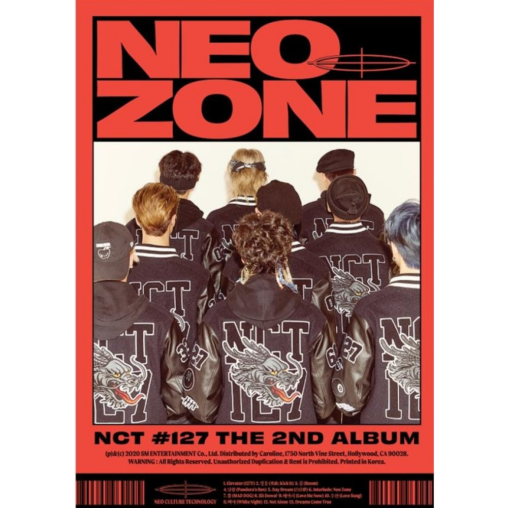 NCT 127 2ND ALBUM: NEO ZONE (C VER)