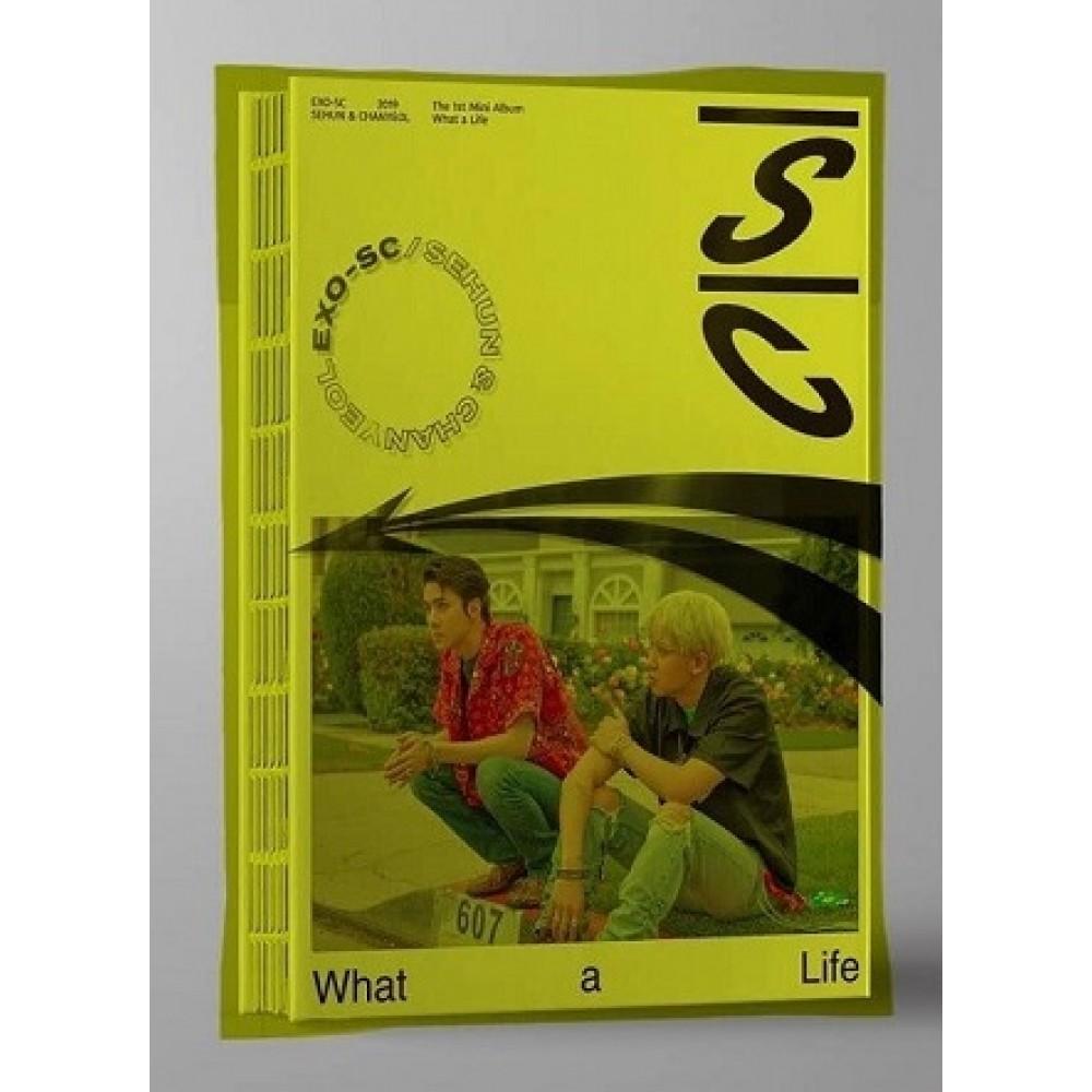 Exo Sc 1st Mini Album What A Life Y Ver