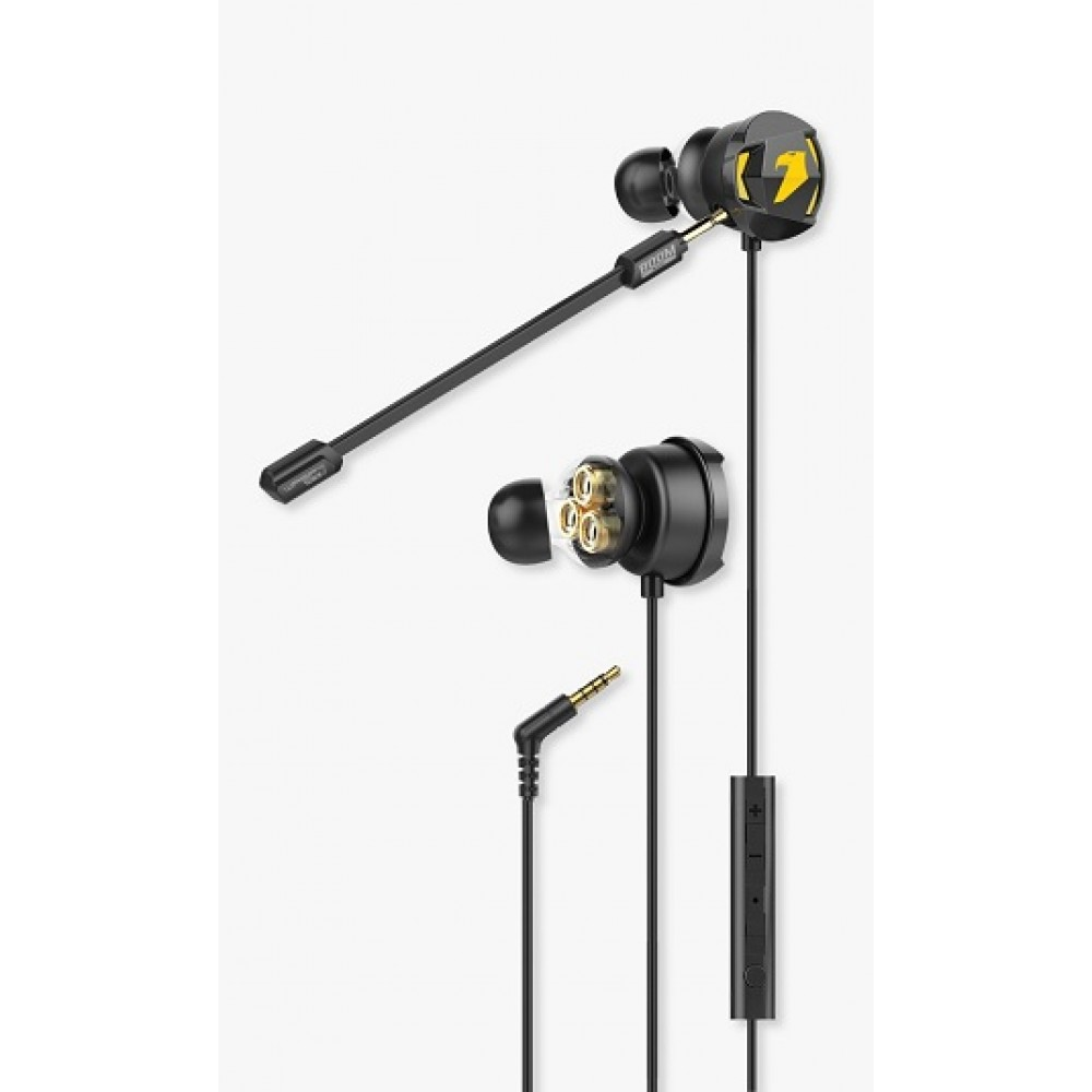 ARMAGGEDDON WASP-7 PRO 3D GAMING EARPHONE WITH TRIPPLE NEODYMIUM DRIVER