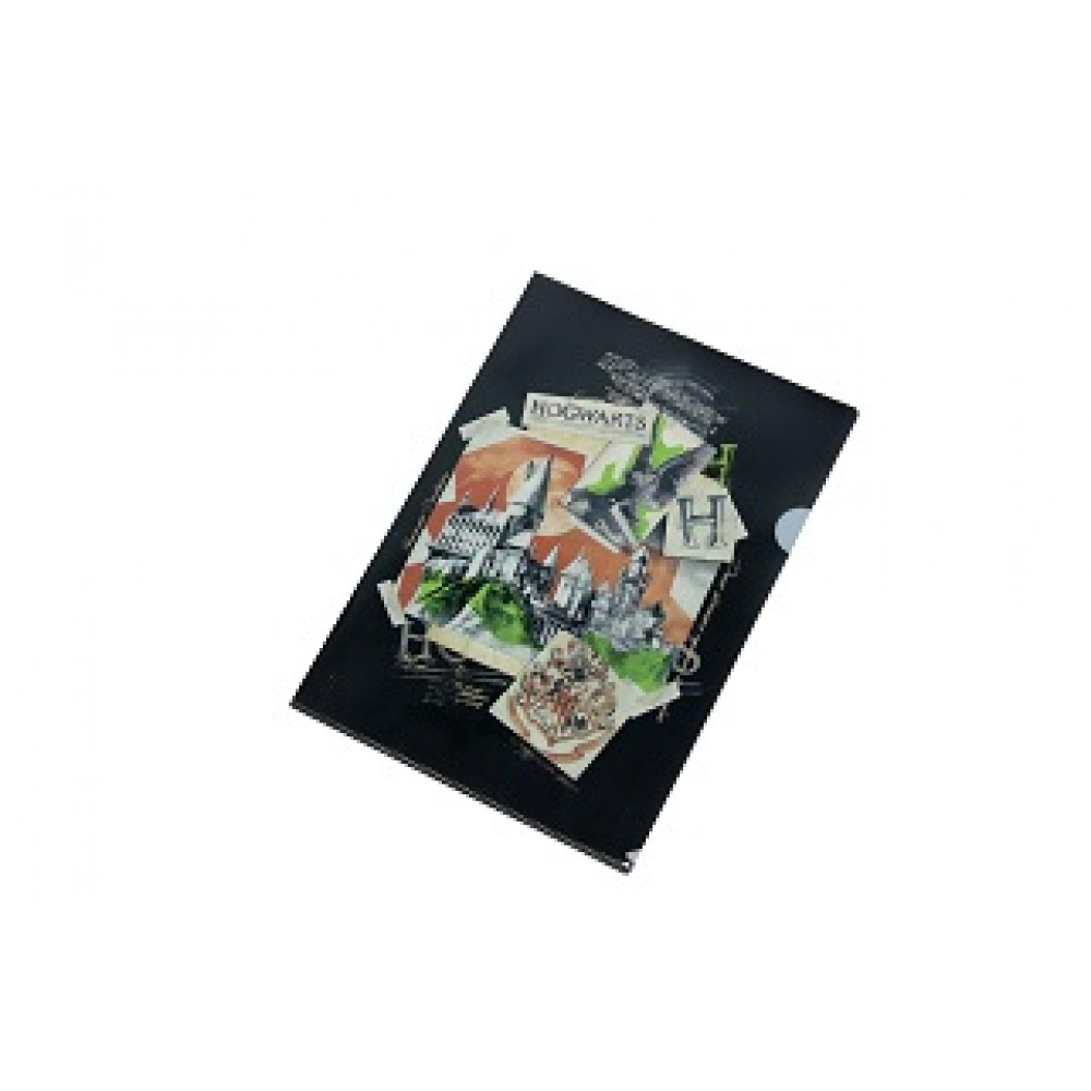 Harry Potter L-shaped Folder (Hogwarts Castle)