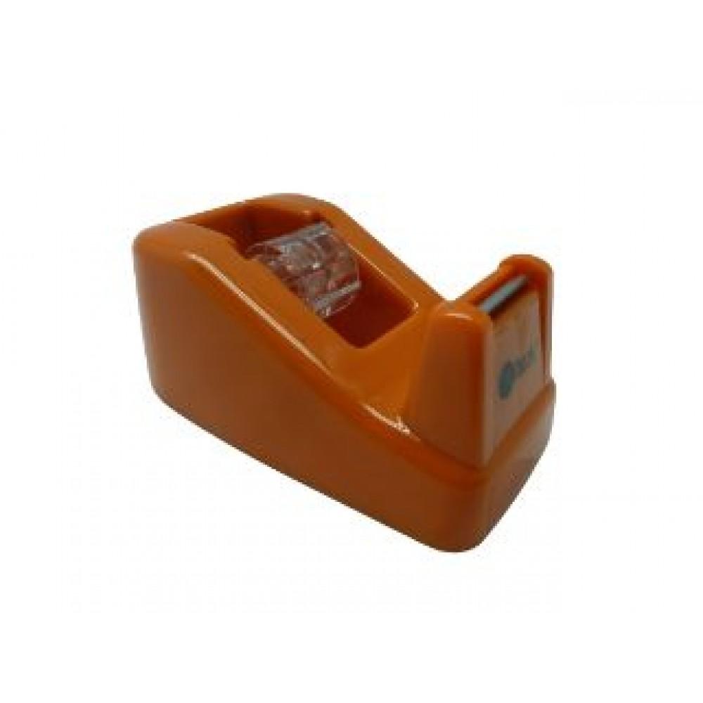 POP BAZIC TAPE DISPENSER SMALL-ORANGE-T20250