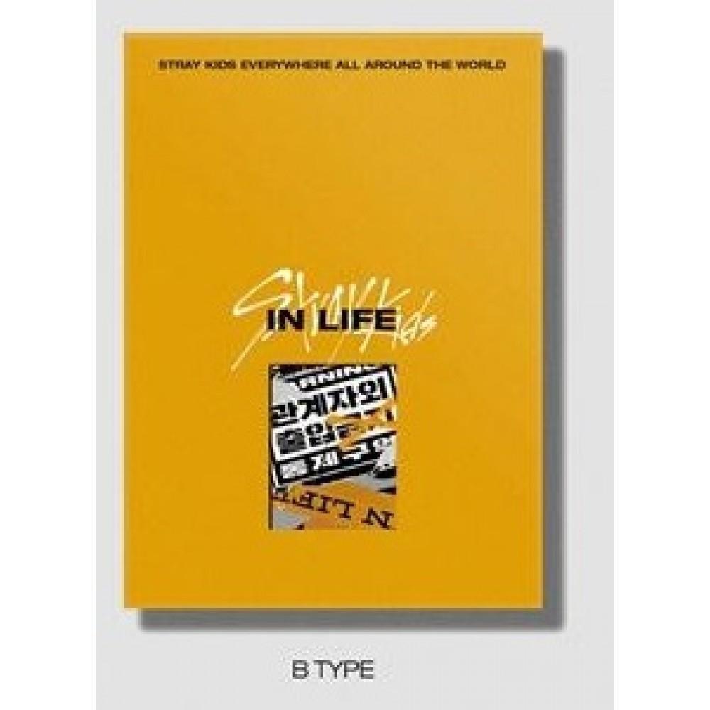 STRAY KIDS - 1ST ALBUM REPACKAGE : IN LIFE (NORMAL VER.) (B)