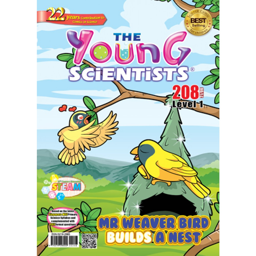 THE YOUNG SCIENTISTS LEVEL 1 ISSUE 208