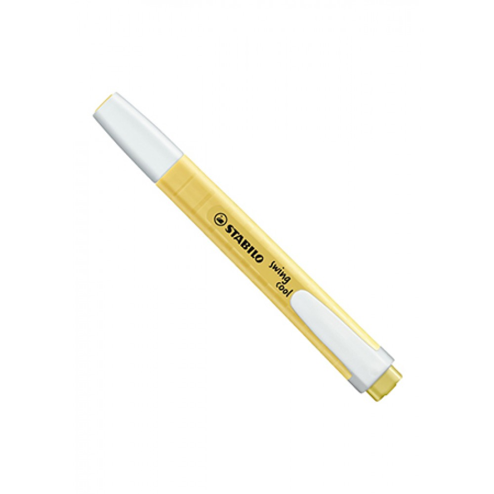 STABILO SWING COOL PASTEL Highlighter- Milky Yellow