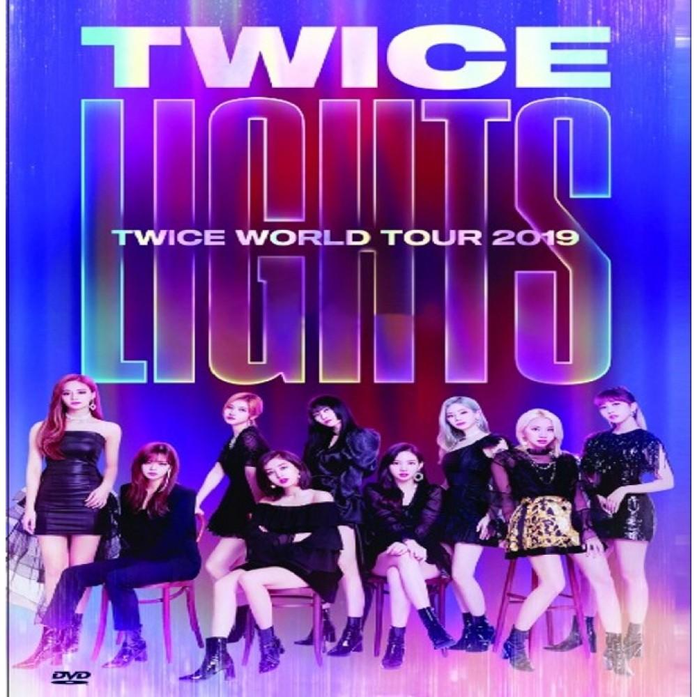 TWICE:TWICELIGHTS WORLD TOUR (DVD)