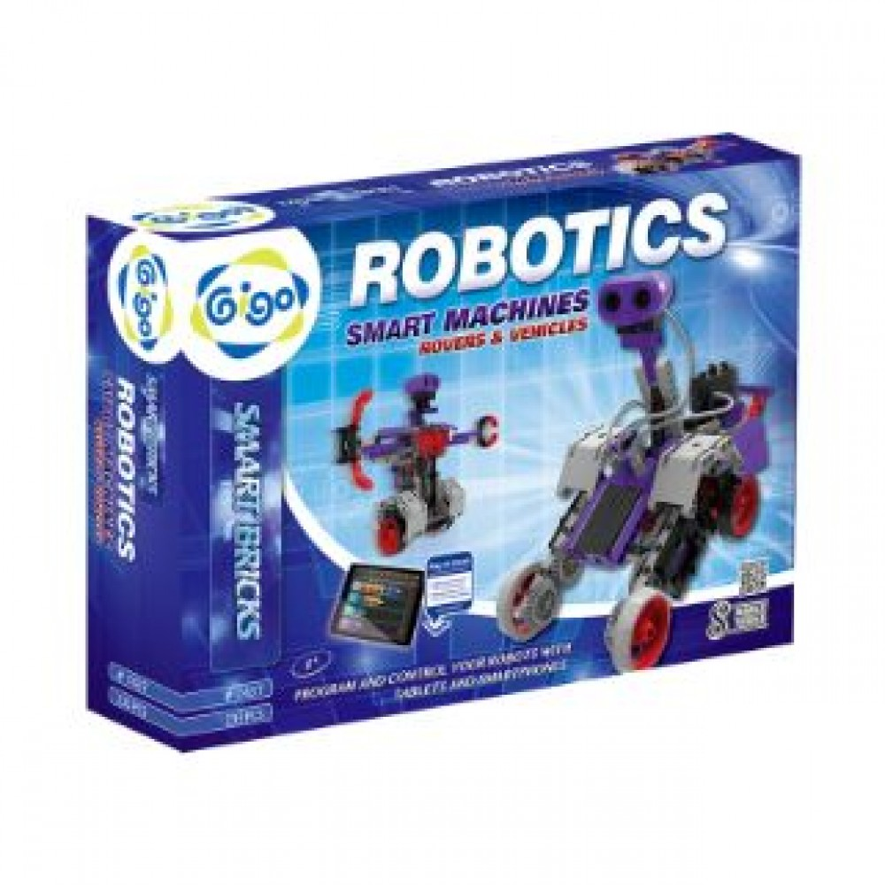 GIGO ROBOTICS SMART MACHINES - ROVERS & VEHICLES