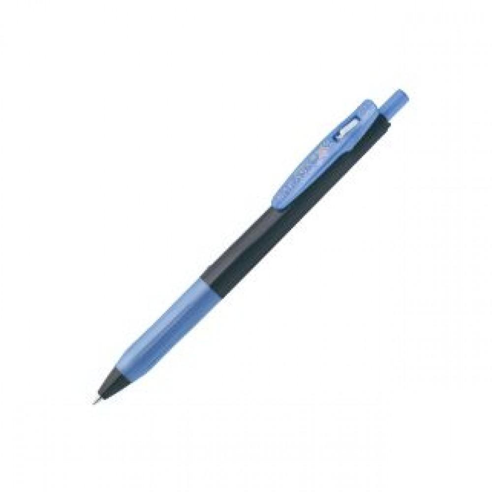 ZEBRA SARASA CLIP DECOSHINE JJ15 GEL PEN 0.5MM SHINY ROYAL BLUE