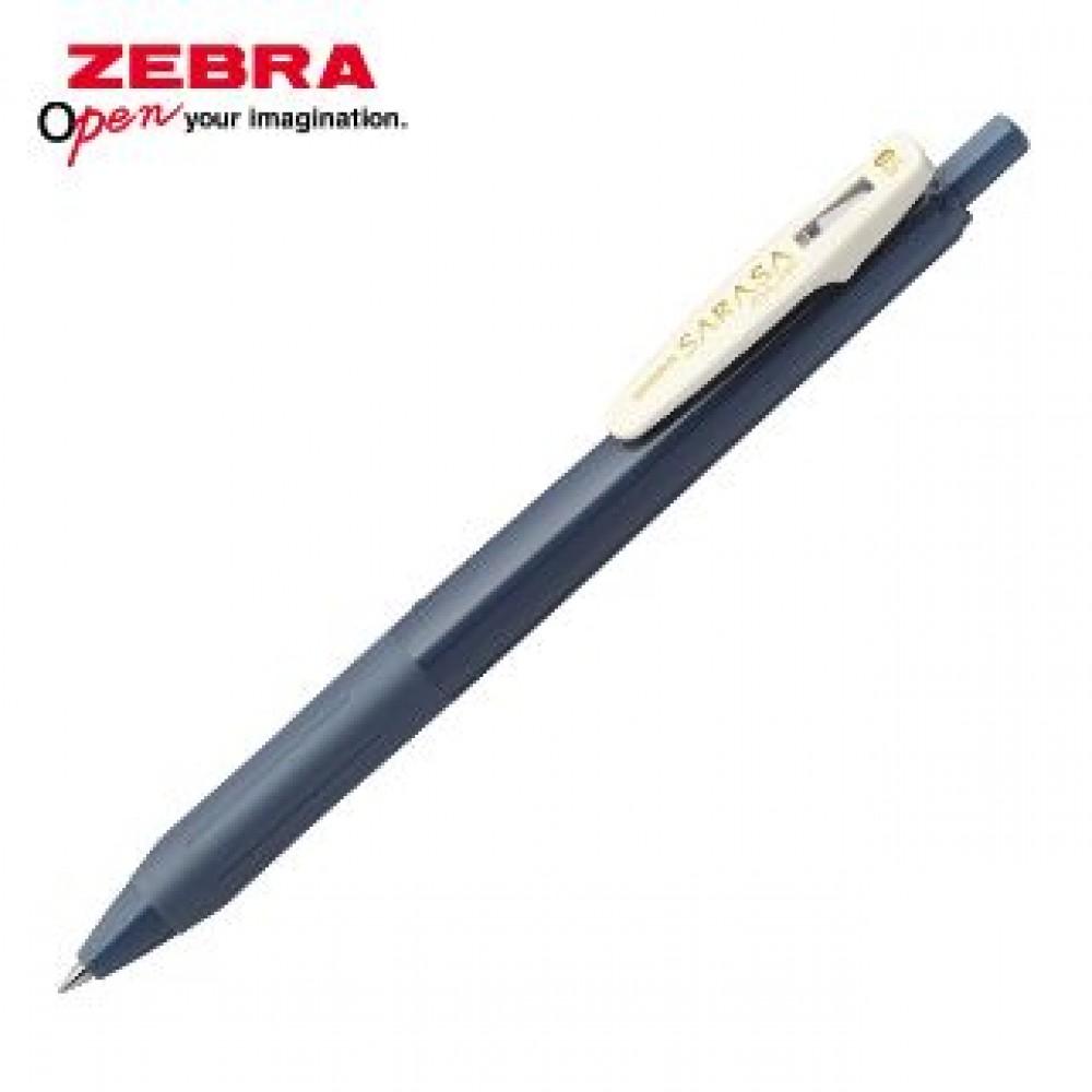 ZEBRA SARASA CLIP VINTAGE JJ15 GEL PEN 0.5MM BLUE GREY