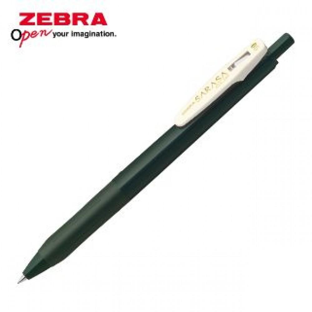 ZEBRA SARASA CLIP VINTAGE JJ15 GEL PEN 0.5MM GREEN BLACK