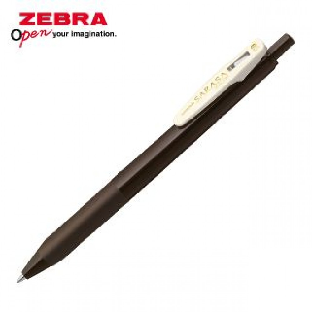 ZEBRA SARASA CLIP VINTAGE JJ15 GEL PEN 0.5MM BROWN GREY