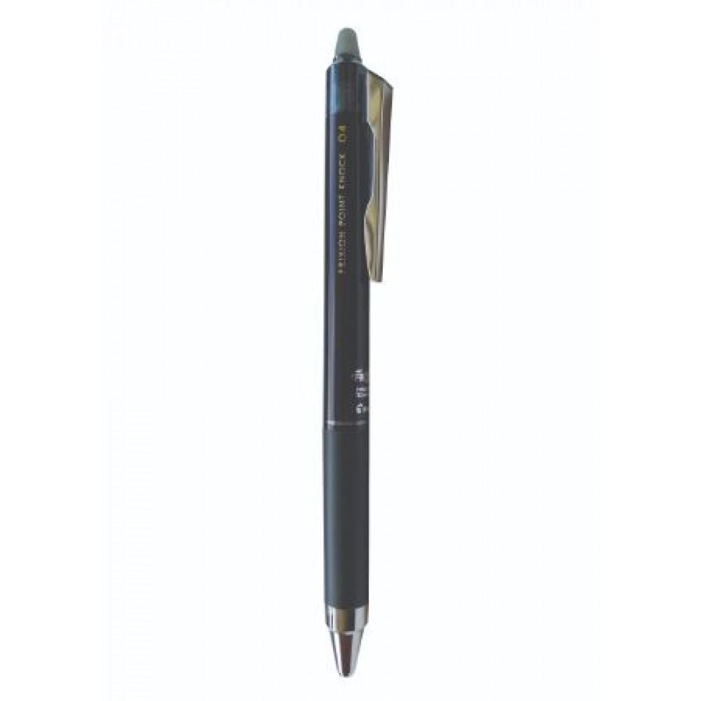 PILOT Frixion Point Knock 04 Erasable Gel Pen - Black