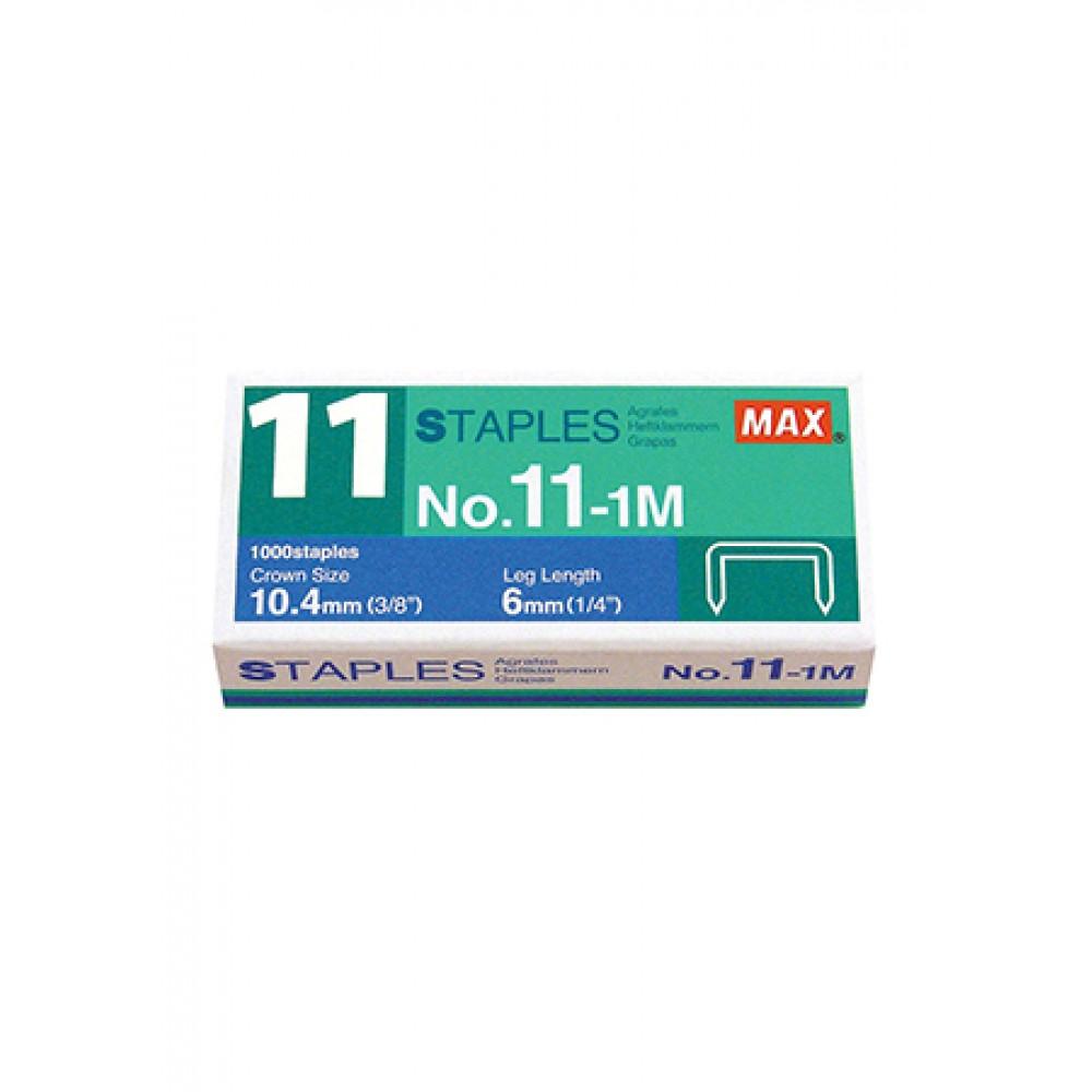 MAX NO.11-1M STAPLES (STAPLER BULLET)