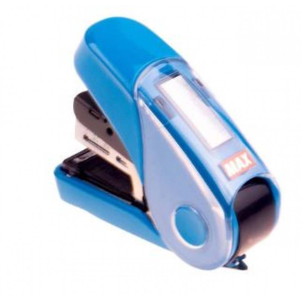 MAX HD-10FL3K FLAT-CLINCH STAPLER BLUE