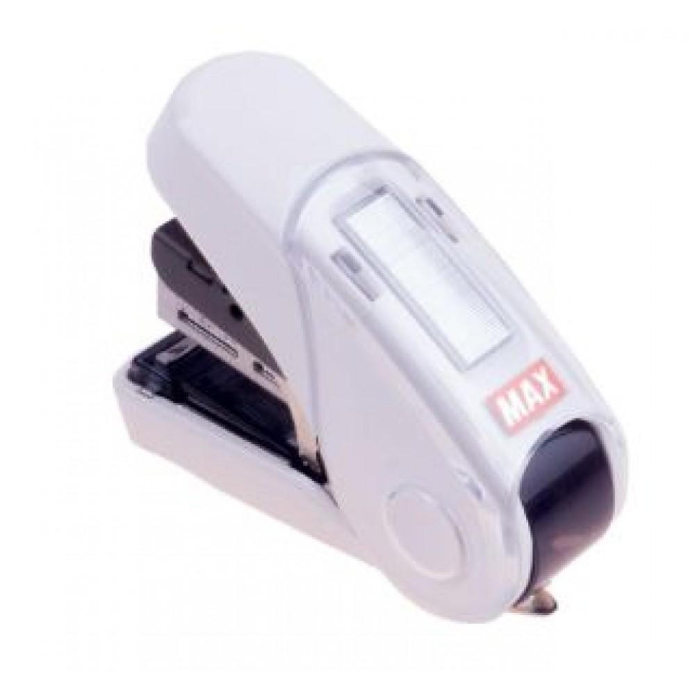 MAX HD-10FL3K FLAT-CLINCH STAPLER WHITE