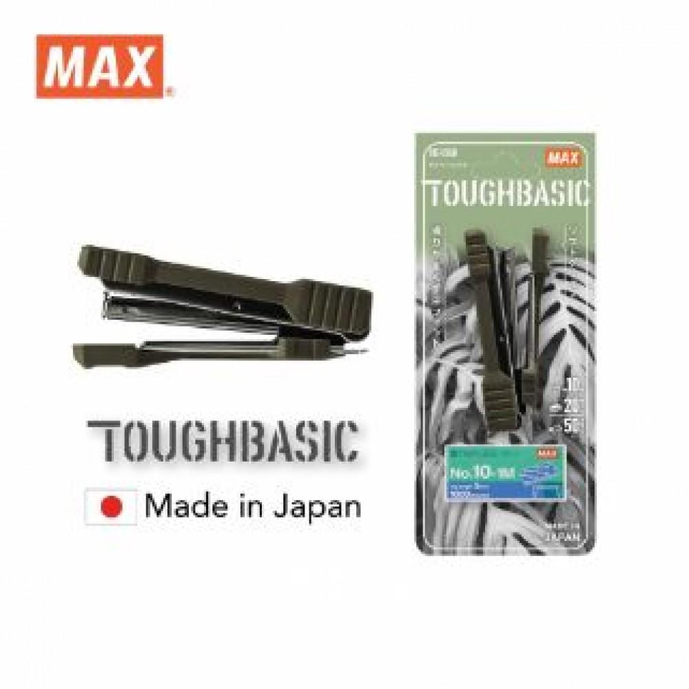 MAX HD-10GK STAPLER WITH STAPLES MOSS GREEN