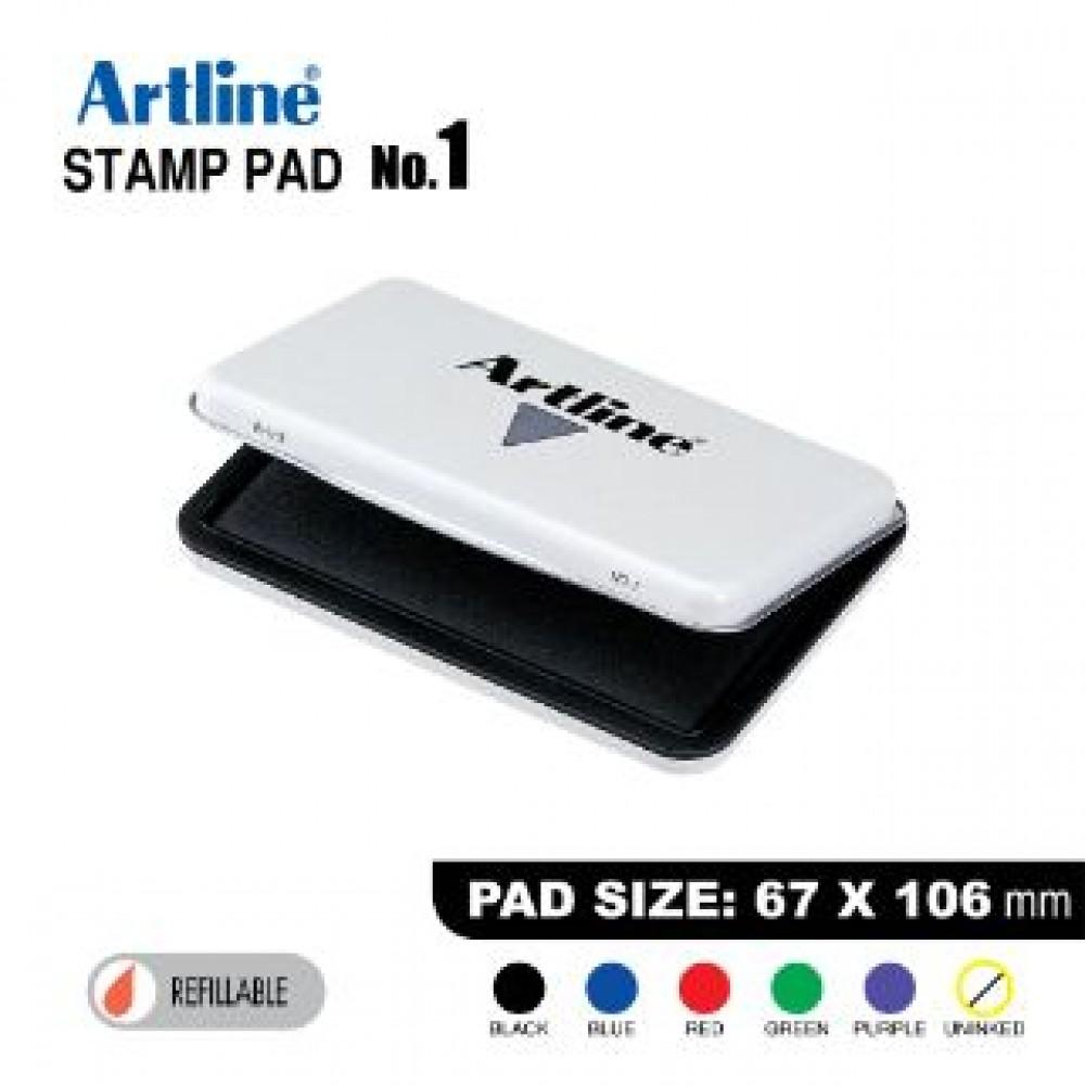 ARTLINE STAMP PAD NO.1 EHJ-3 EHJU-3 67X106mm BLACK