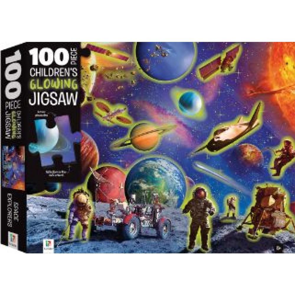 HINKLER PUZZLE SPACE ADVENTURE 100 PCS
