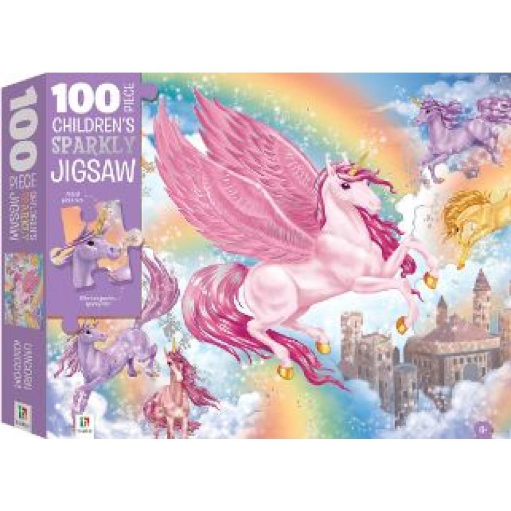 HINKLER PUZZLE UNICORN KINGDOM 100 PCS