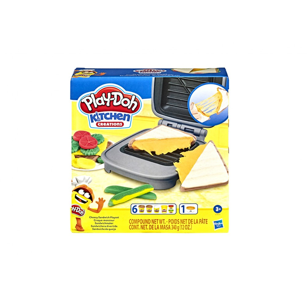 PLAYDOH GRILLED CHEESE PLAYSET