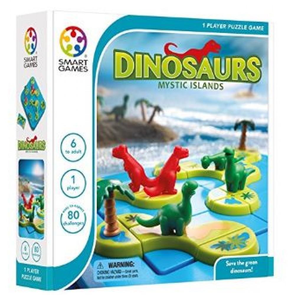 SMART GAMES DINOSAURS - MYSTIC ISLANDS