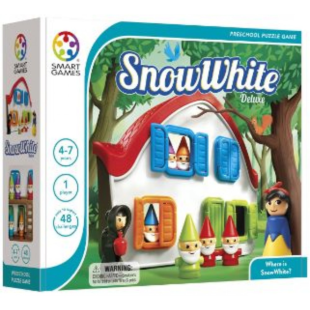 SMART GAMES SNOW WHITE-DELUXE