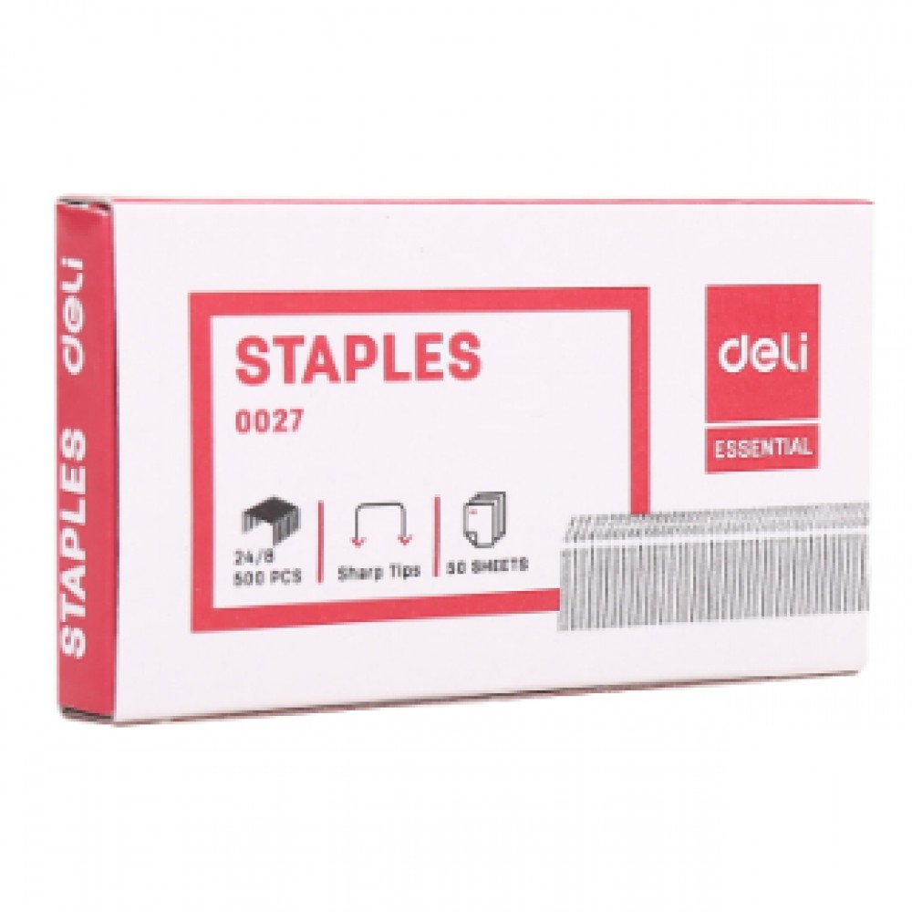DELI STAPLES NO.12 24/8 E0027
