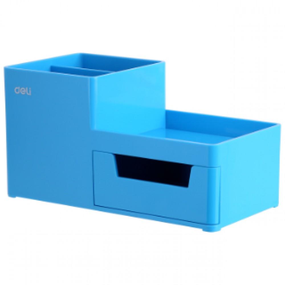 DELI DESKTOP ORGANIZER BLUE EZ25130