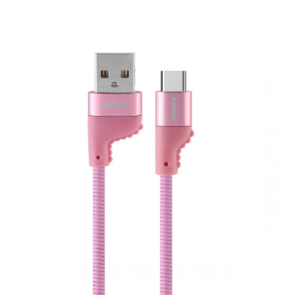 REMAX RC-108A CAMAROON TYPE-C CABLE PINK