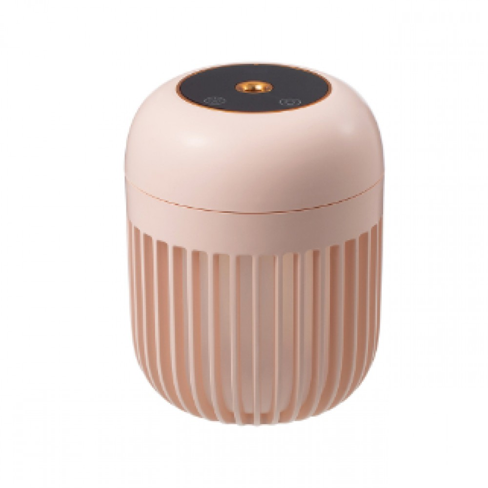 PORTABLE USB HUMIDIFIER WITH NIGHT LAMP PINK LJH-031