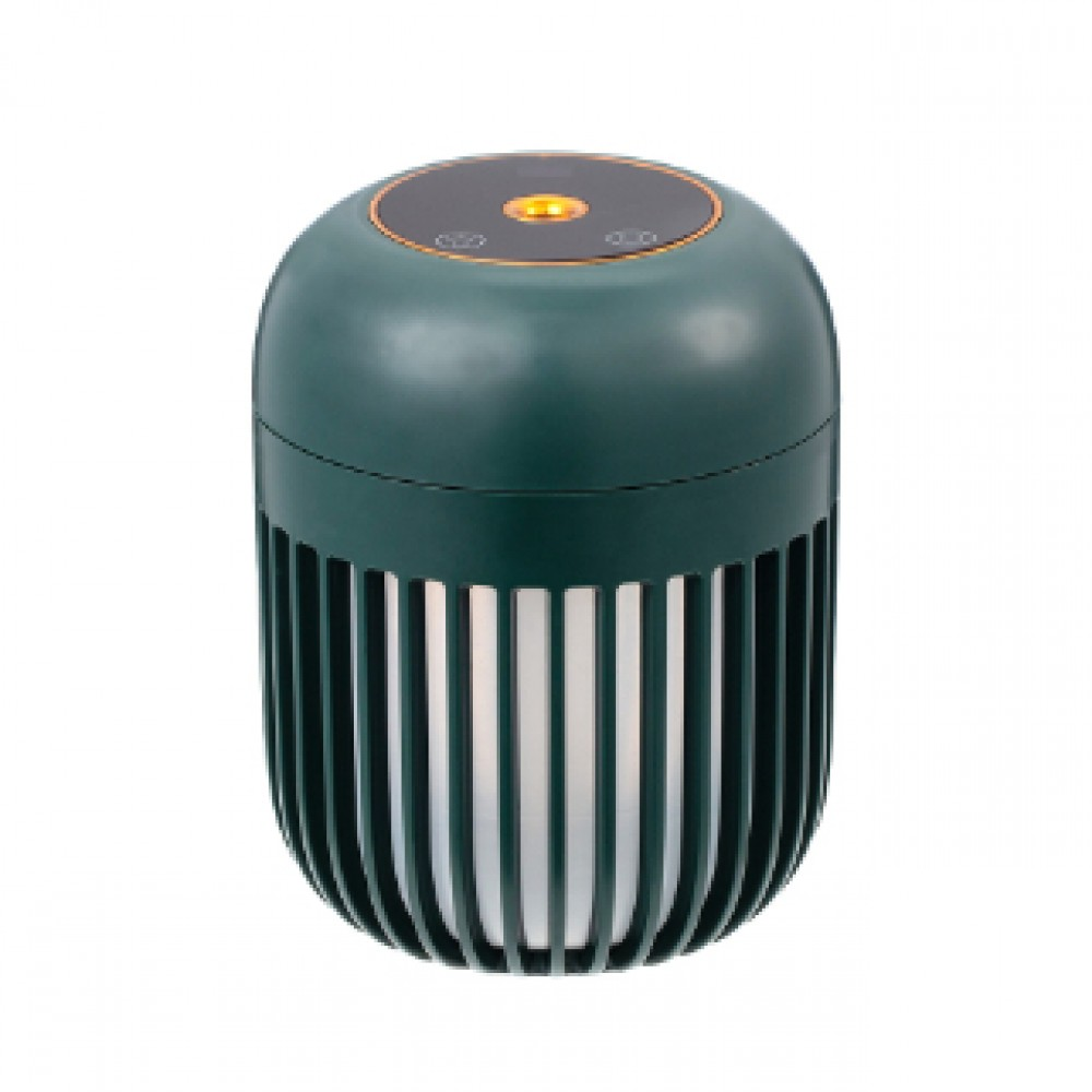 PORTABLE USB HUMIDIFIER WITH NIGHT LAMP GREEN LJH-031