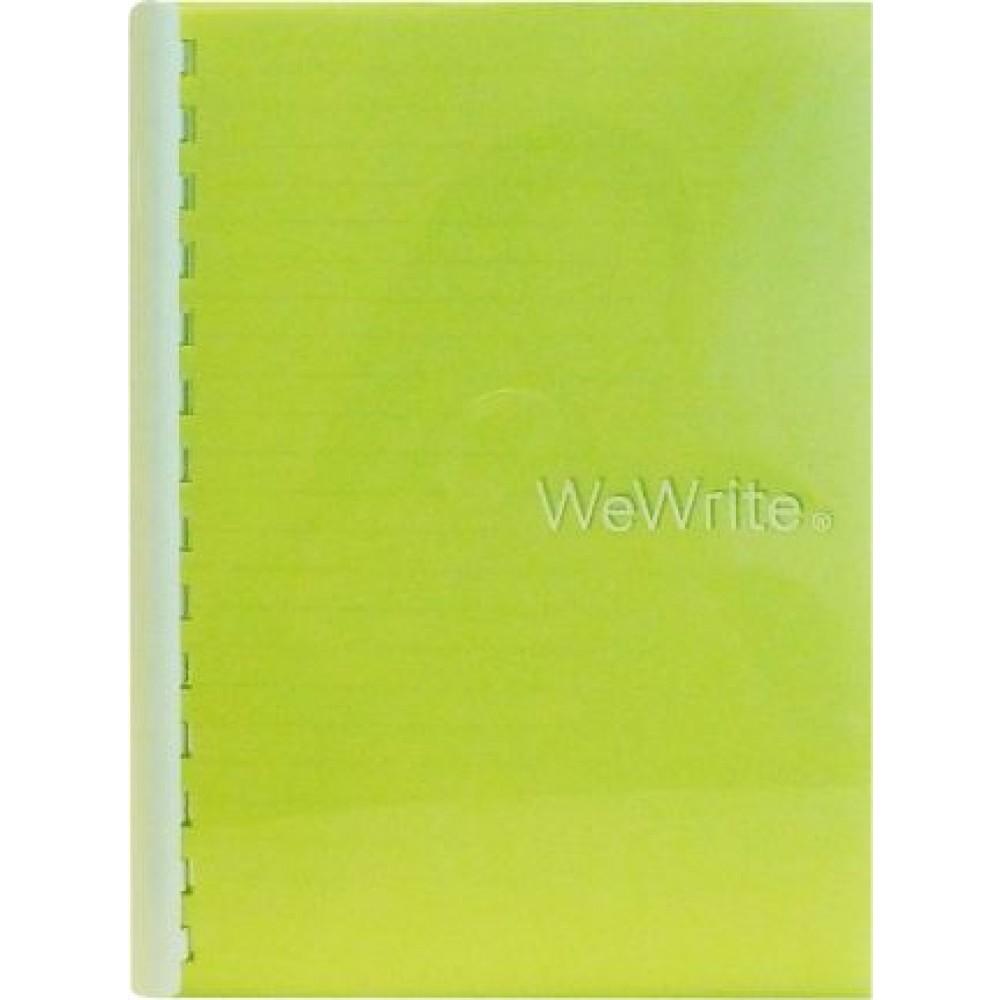 FOLDERMATE AQUASTAR SERIES SPIRAL NOTE BOOK B5 - LIME GREEN