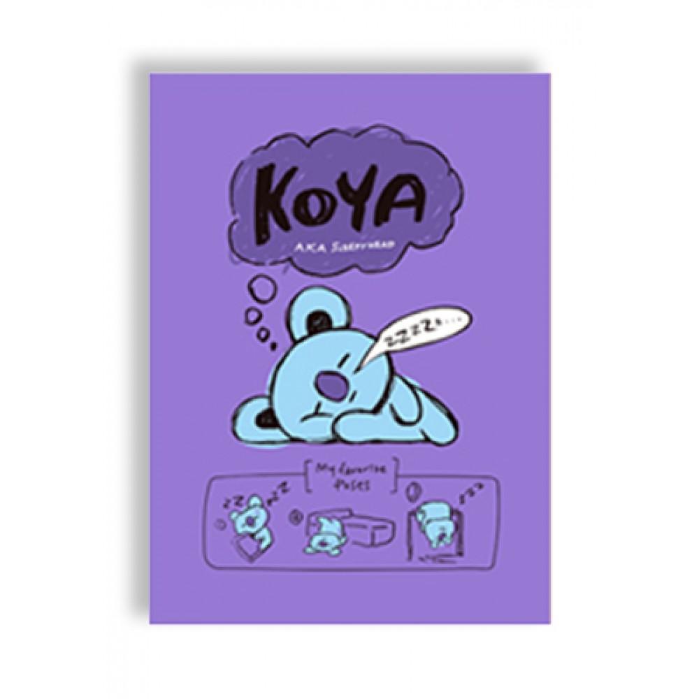 BT21 LINE NOTEBOOK 188*257MM 32SHEET (KOYA)