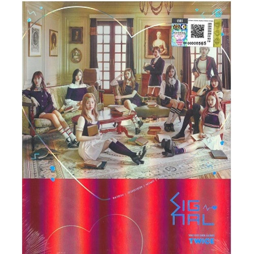 Twice - Signal (4th Mini Album) RED - CD-Rama