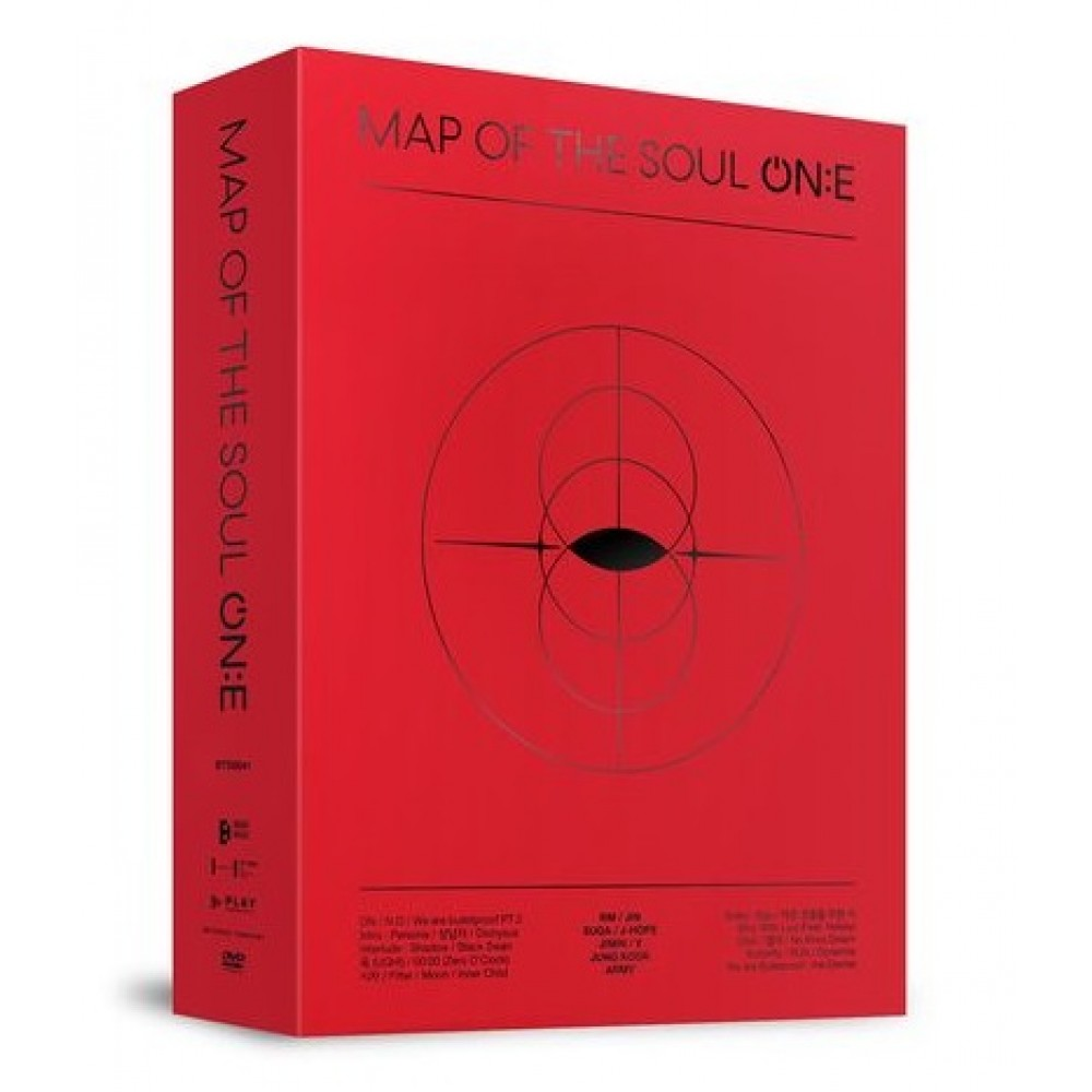 BTS - MAP OF THE SOUL ON:E (3DVDS)