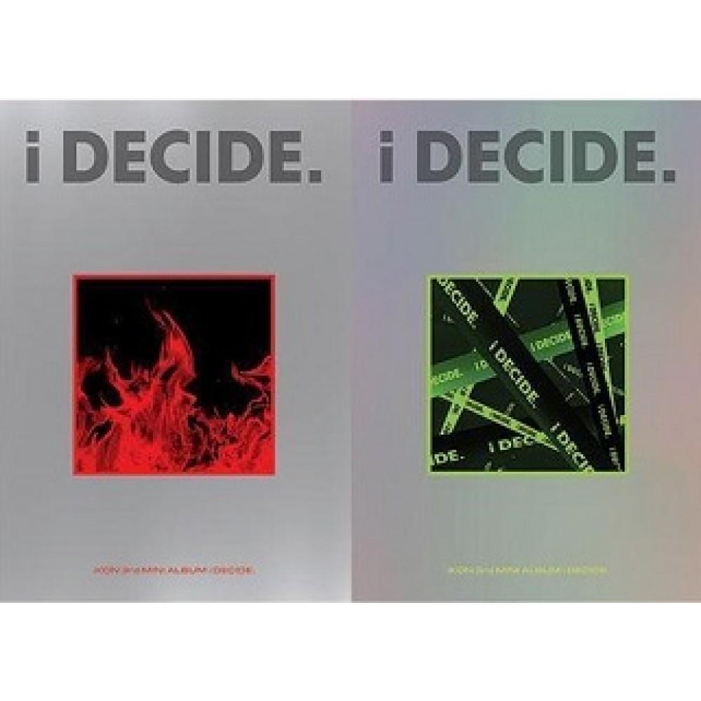 iKON 3RD MINI album: I DECIDE (Random Ver.)