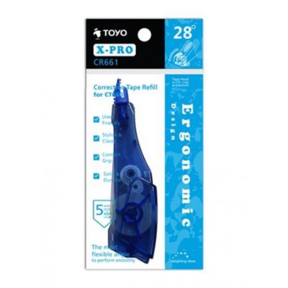 TOYO X-PRO CORRECTION TAPE REFILL 5MMX6M