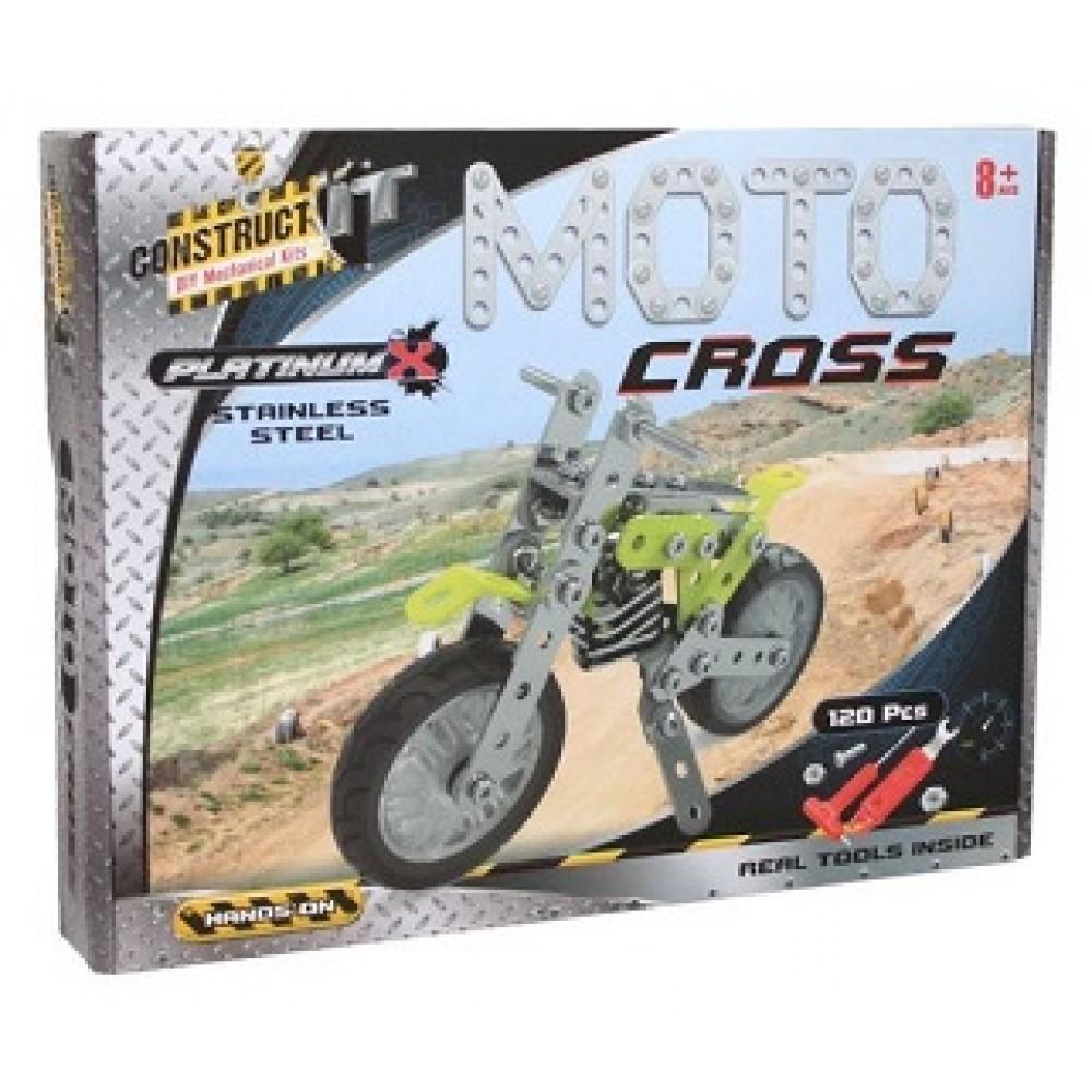CONSTRUCT IT! MOTO CROSS (PLATINUM X)