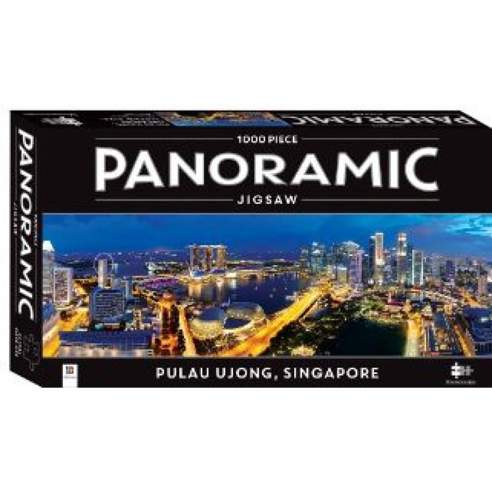 HINKLER PANORAMIC JIGSAW PUZZLE SINGAPORE 1000PCS