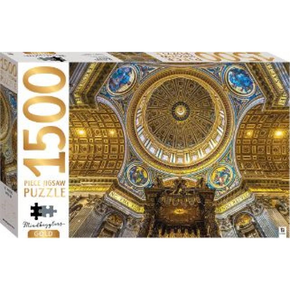 HINKLER PUZZLE ST PETER BASILICA 1500PCS