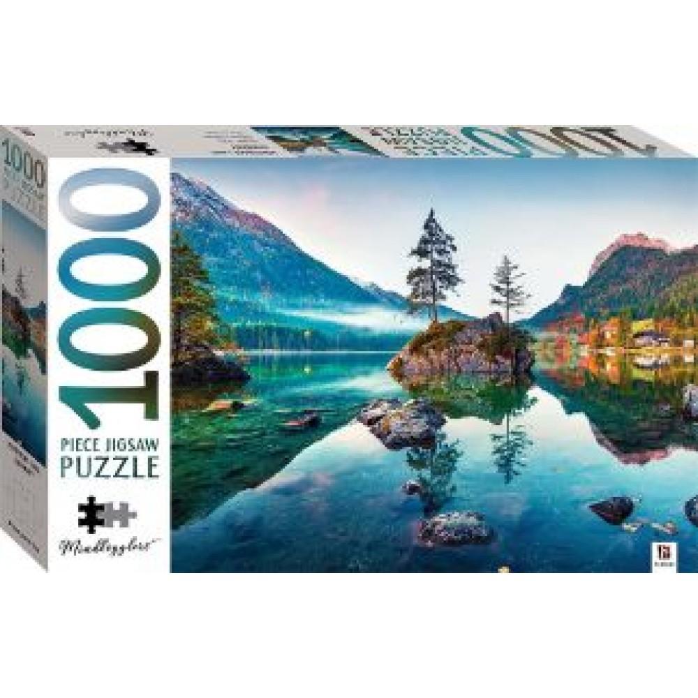 HINKLER JIGSAW PUZZLE HINTERSEE LAKE GERMANY 1000PCS