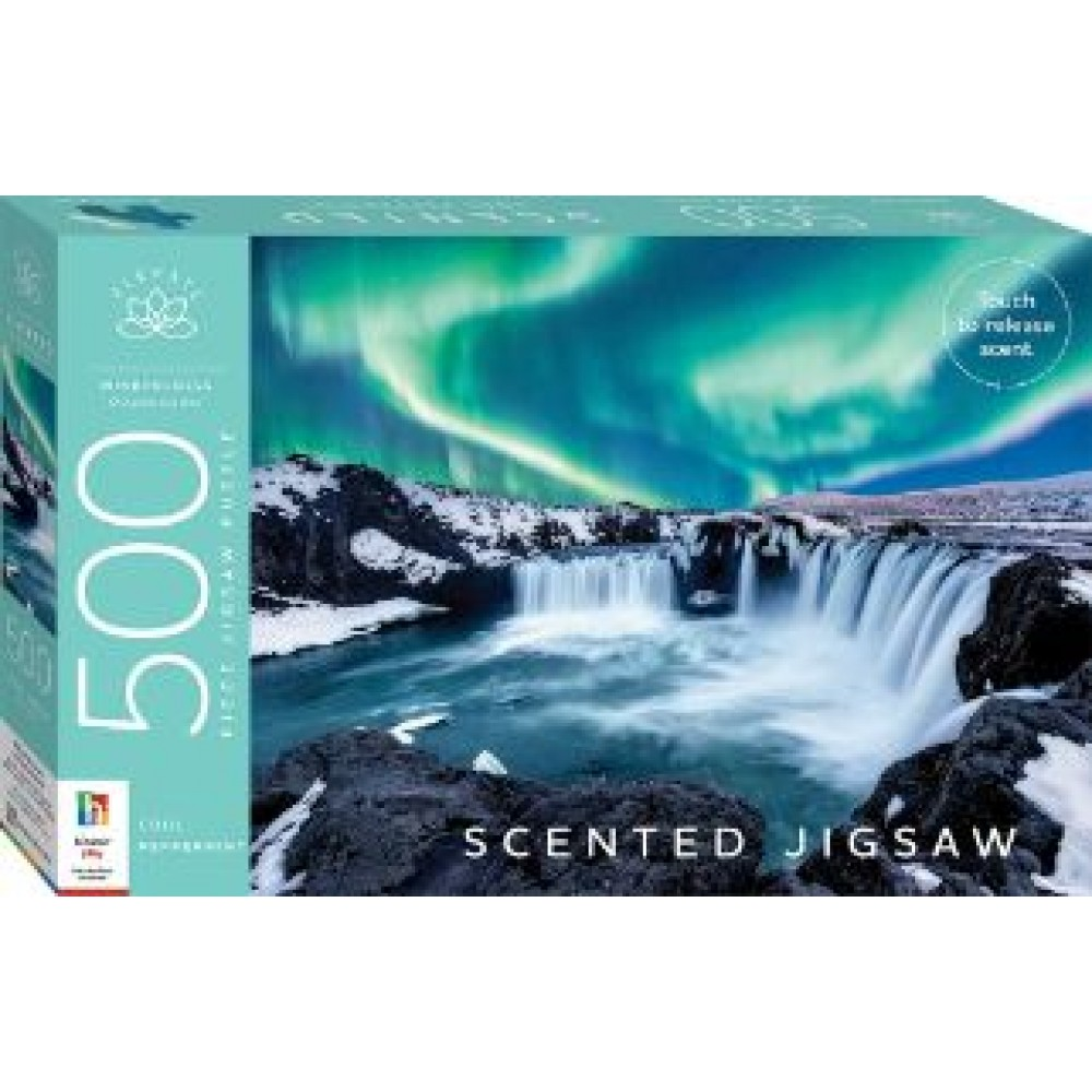HINKLER ELEVATE SCENTED JIGSAW: COOL PEPPERMINT 500 PCS