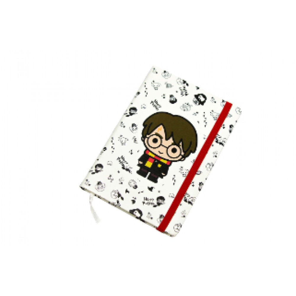 Harry Potter Diary with elastic band  Notebook (Harry Potter Chibi)