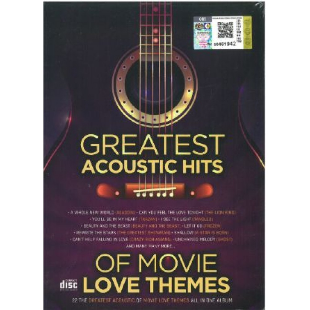 GREAT ACOUSTIC HITS OF MOVIE LOVE THEMES (2CD)