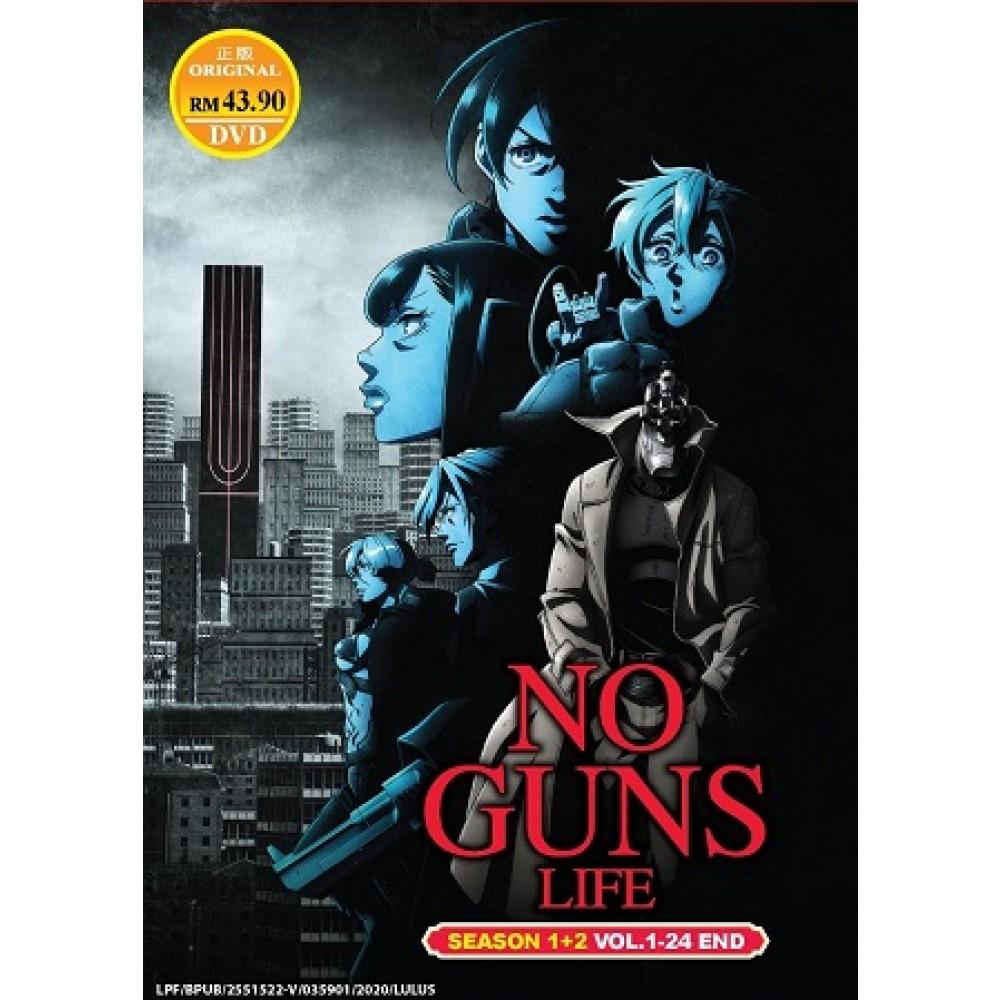 NO GUNS LIFE S1+2 V1-24END (2DVD)
