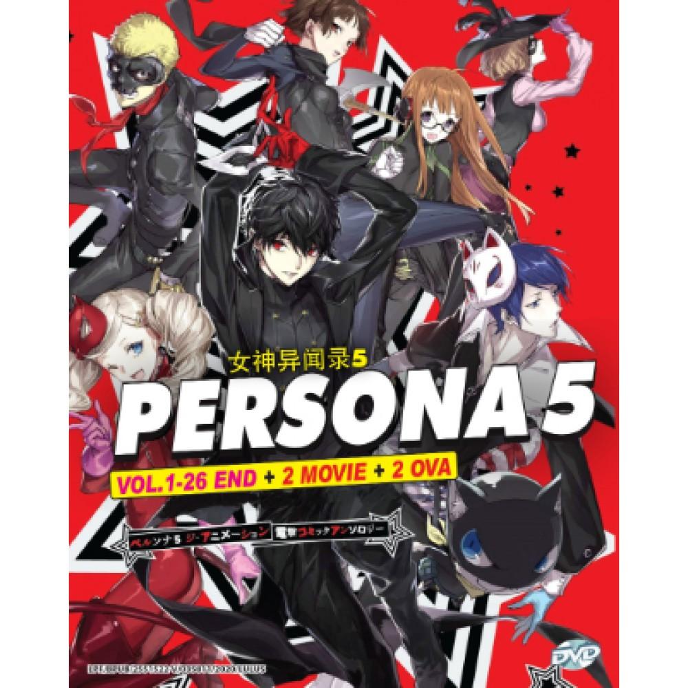 PERSONA 5 V1-26END +2 MOVIE+2 OVA (3DVD)