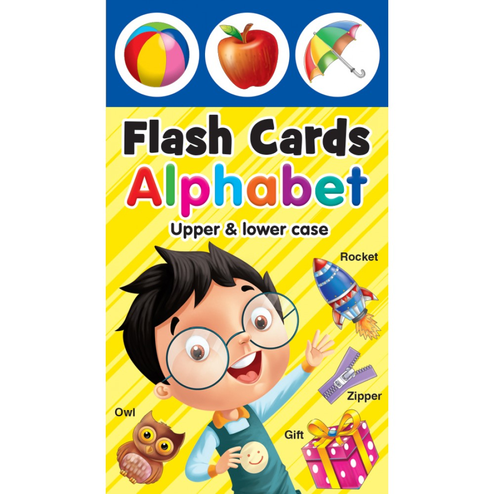 FLASH CARD ALPHABET: UPPER & LOWER CASE