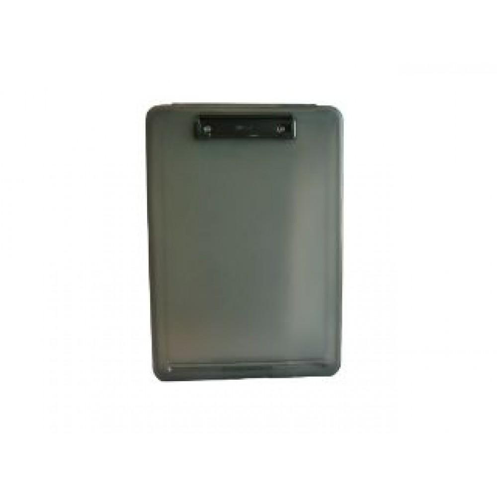POP BAZIC A4 FILE CASE WITH CLIPBOARD BLACK PB8812