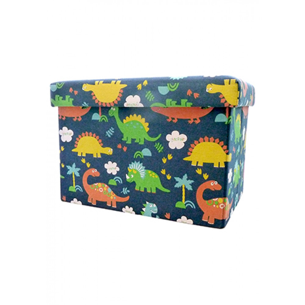 STORAGE BOX CUM CHAIR 48*31*31CM -DINOSAUR FL-1311M