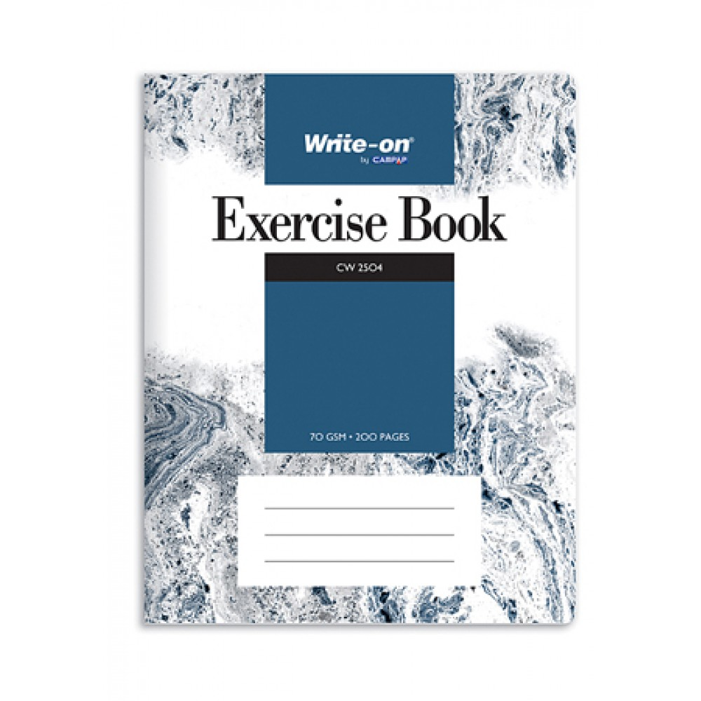 CAMPAP WRITE-ON EXERCISE BOOK F5 70GSM 200 SHEETS